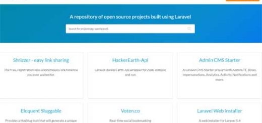 Cari Project Open Source Laravel dengan Open Laravel
